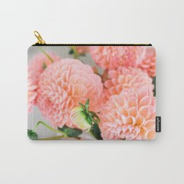 Coral Dahlias 02 Carry-All Pouch