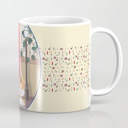 Britain London Corgi Coffee Mug
