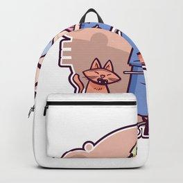 Grumpy Grandfather Backpack
