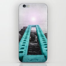 BRIDGE OVER SILENT WATER iPhone & iPod Skin
