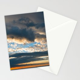 Vibrant Sunrise Cloudscape Stationery Cards