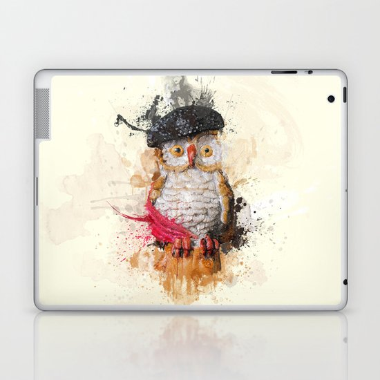 Spain Owl Laptop & iPad Skin