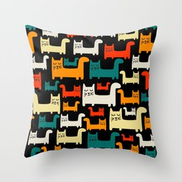 StylizCats Throw Pillow