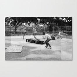 Skater Series #2 Canvas Print