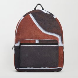Stone wall colour 5 Backpack