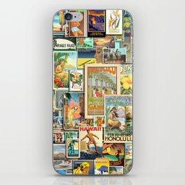 Vintage Hawaii iPhone Skin