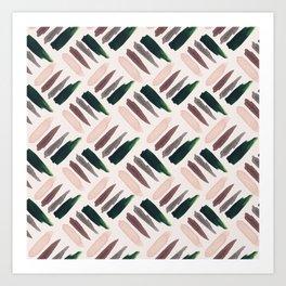 Watercolor stains (Pattern SMI 01) Art Print