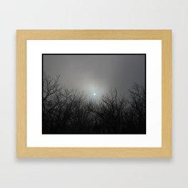 Bad Moon A'Risin Framed Art Print