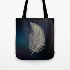 Swan Feather Tote Bag