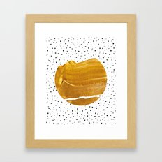 Stay Gold #society6 #decor #buyart Framed Art Print