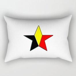 Flag of belgium 6 belgian,belge,belgique,bruxelles,Tintin,Simenon,Charleroi,Anvers,Maeterlinck Rectangular Pillow