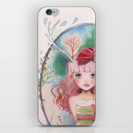 Jolie toi iPhone & iPod Skin