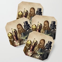 Victorian Wars (square format) Coaster