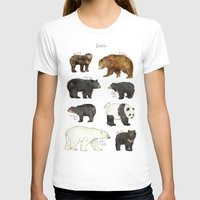 bears T-shirts featuring Bears by Amy Hamilton