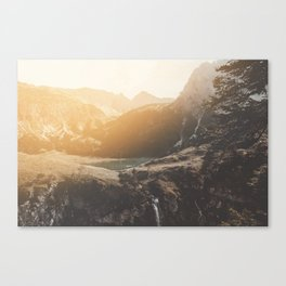 Is this real landscape photography Canvas Print