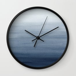 Ocean Watercolor Painting No.2 Wall Clock