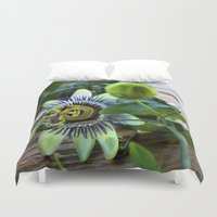 passion Duvet Covers featuring Passion by Adventures In Staceland