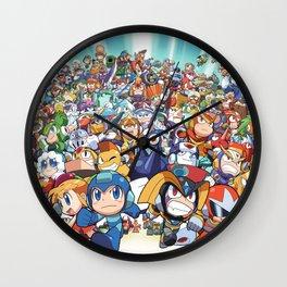 Full Megaman Wall Clock