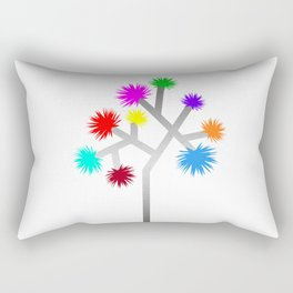 Joshua Tree Pom Poms by CREYES Rectangular Pillow