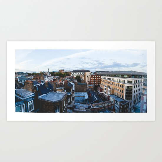 London Buildings Art Print