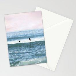 Sunset Sea Birds Stationery Cards