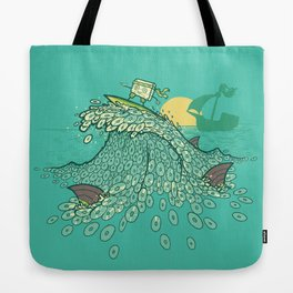 Surfin' Soundwaves Tote Bag