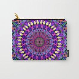 Bohemian Blossom Mandala Carry-All Pouch