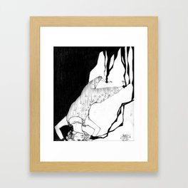 ...A Galaxy inside of us... Framed Art Print