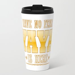 YAYA IS HERE Travel Mug