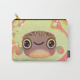 Smiling puffer Carry-All Pouch