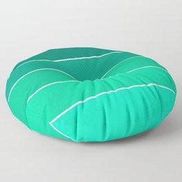 Ton sur ton rainbow Mint Floor Pillow