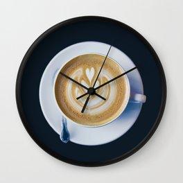 Barista Boyfriend Wall Clock