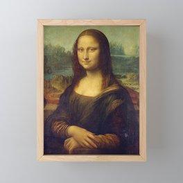 MONA LISA - LEONARDO DA VINCI Framed Mini Art Print