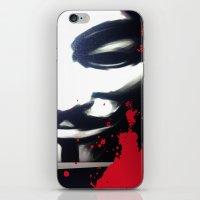 vendetta iPhone & iPod Skins featuring VENDETTA for IPhone by Vertigo
