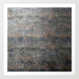 Suede Velvet Mouse - Navy Gradient Art Print