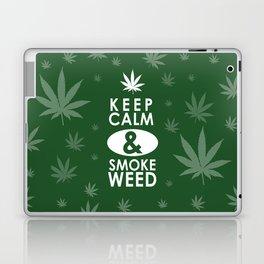 """Keep Calm and Smoke Weed"" Laptop & iPad Skin"