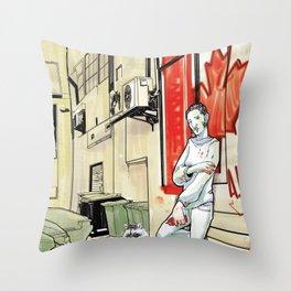 DSA - CANADIAN RUTHLESS Throw Pillow