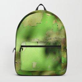 Peeling paint car hood Backpack