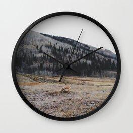 Silverton Fox Wall Clock