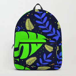Tropical Leaves & Ferns Backpack