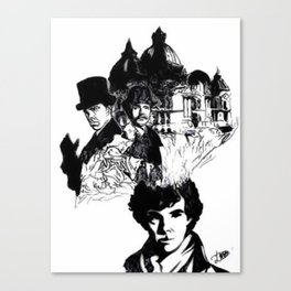 Sherlock's Mind Palace Canvas Print