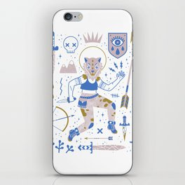 The Warrior iPhone Skin