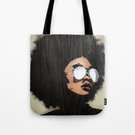 Venus Afro Tote Bag