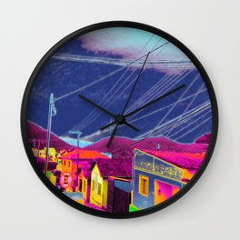 Infra-red Wall Clock