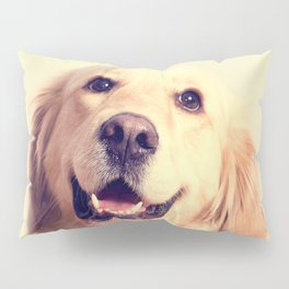 Home Is Where Your Golden Is Pillow Sham