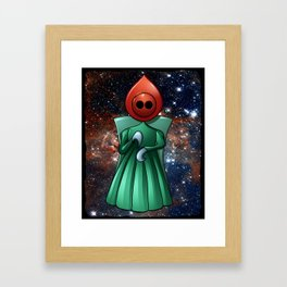 Flatwoods Monster (aka Braxton County, WV Monster) Framed Art Print