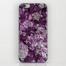 Purple Moss iPhone & iPod Skin