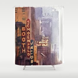 NYC - 45th Street Shower Curtain