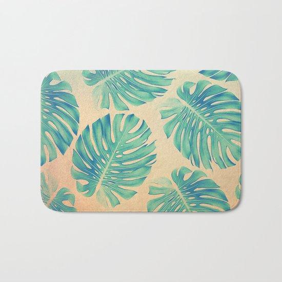 Tropical abstract(2) Bath Mat