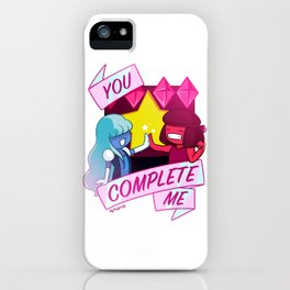 Crystal Gem Valentine's iPhone Case